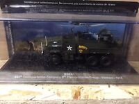 "DIE CAST TANK "" M35 A1 TRASPORTATION GROUP VIETNAM - 1968 "" BLINDATI  1/72"