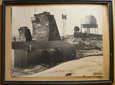 RARE INDUSTRIAL MODERN COLD WAR HISTORICAL PHOTOGRAPH DEW LINE STATION 1957 50s