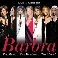 Barbra Streisand : The Music... The Mem'ries... The Magic!: Live in Concert CD