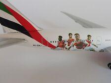 EMIRATES ARSENAL LONDON Boeing 777-200LR 1/500 Herpa 529235 777-200 A6-EWJ