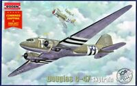 Roden 308 - 1/144 - Douglas C-47 Skytrain USAF US Military transport aircraft