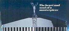 1978 Rolls Royce Shadow Corniche Camargue Brochure  mw9911-9HANAE