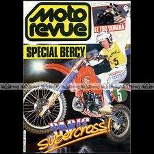 MOTO REVUE N°2681 JOHNNY O'MARA YAMAHA FZ 750 KAWASAKI GPZ 400 ZX KLR 600 E 1984