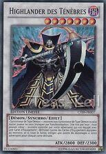 Highlander des Tenebres (Dark Highlander) SR Yu Gi Oh CT09-FR007