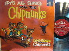 ► Chipmunks - Let's All Sing with The Chipmunks (Liberty 3132) (Mono) (black)