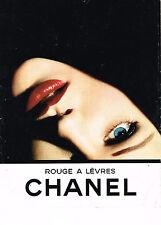 PUBLICITE ADVERTISING 0314  1993   CHANEL   cosmétiques lèvres
