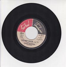 """André VERCHUREN Vinyle 45T 7"""" J'AI TOUT QUITTE -LE TEMPS PASSE VITE Musette RARE"""