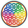 Flower of Life - Small Mandala Bumper Sticker / Decal
