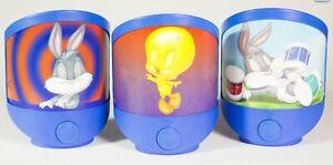 Joblot QTY x 36 - Kids NIGHT LIGHT LED Baby Looney Tunes Bugs Bunny Tweetie Pie