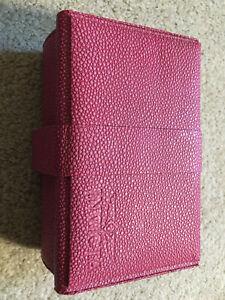 Invicta 3 Slot Watch Box-Collectors-Pink-Pebble Grain