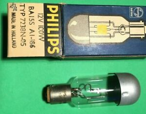 Projector bulb lamp A1/186 12V 100W BA155 type 7238N-05  B15s NEW..... 31   fx