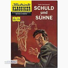 Illustrierte Klassiker 236 Schuld und Sühne Rudy Palais  Psycho-Krimi COMIC NEU