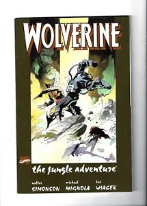 Wolverine The Jungle Adventure Marvel Comics 1st Print 1990 TPB Softcover UNREAD