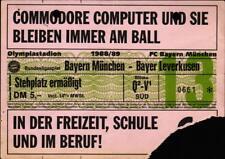 Ticket BL 88/89 FC Bayern München - Bayer 04 Leverkusen, Stehplatz ermäßigt