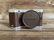 "Samsung NX300 Mirrorless Digital Camera Body - Brown - ""Please read description"""