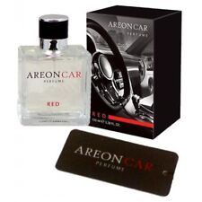 Areon Top Quality Luxury Car Perfume  Air Freshener - 50ML - RED