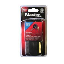 2 x Master Lock MAGNETIC KEY CASE Storage BLACK 119x51x28mm 0207D *USA Brand