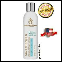 Self Tanner Tanning Lotion - Organic and Natural Ingredients. Extend Sunless Tan
