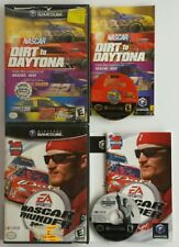 NINTENDO GAMECUBE NASCAR DIRT TO DAYTONA & THUNDER 2003 GAMES FREE SHIPPING NGC
