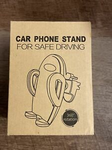 Universal Car Cell Phone Stand Multi Functional Mount 360 Rotation Silicone Grip