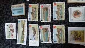 Reduced!...Collection of Mint Isle of Man/Lord of the Ring stamps