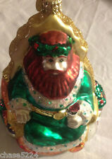 "Old World/ Radko? ""Good King Wencelas"" 6"" Multi-sided Vintage Ornament A Rarity"