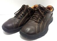 Alpine Design Mens Size 9.5 Brown Leather Casual Hiking Lace Up Shoes
