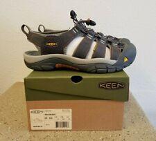 KEEN Mens Newport H2 Waterproof Hiking Sandals Size 8.5 India Ink Rust 1001931