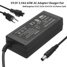 AC Adapter Charger Power for Dell Inspiron 1525 1526 1545 PA-12 Power Cord Lapto