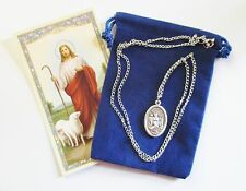 St. Andrew Avellino Saint Medal with 24 Inch Necklace