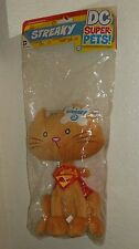 STREAKY the Cat Plush  Supergirl's Pet Cat! DC Collectibles DC Direct Toys NEW!