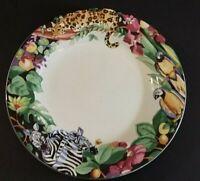 "Vitromaster Rain Forest 7 3/4"" Salad Plate"