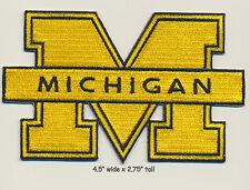 University of Michigan Block U OF M PATCH Basketball Football