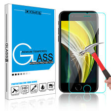 For iPhone SE 2nd Gen 2020 Premium 9H Tempered Glass Screen Protector Film Guard