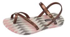 Calzado de mujer chanclas/flip flops planos de goma
