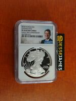 2016 W PROOF SILVER EAGLE NGC PF70 UCAM 30TH ANNIVERSARY LETTERED EDGE REAGAN