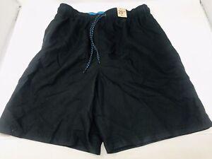 OP Ocean Pacific Men's Black Swimming Board Shorts Size M 32-34 NWT