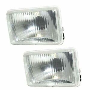 Front Glass Headlight Lamp Beam Assy 2 Unit 100 X 155 Mm For John Deere