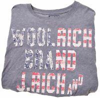 WOOLRICH Boys T-Shirt Top 11-12 Years Grey Cotton  FJ13