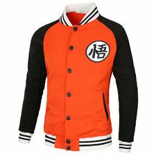 Men Anime Thicken Sweater Hoodies Fleece Jacket Coat black size L 8