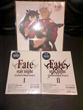 Fate stay night Unlimited Blade Works Limited Blu-ray Box I & II W/ Eng Sub NEW