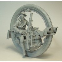 "1:35 ""Military Monocylce"" Resin Figure Model Kit Unassambled Unpainted"