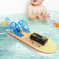 DIY Electronic Assembly Boat Model Toy Scientific Experiment Toy For Kids Gift