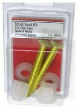 Larsen Supply #14-1069 Pb Oak Toil Seat Bolt,No 14-1069, 3Pk
