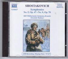 (EV306) Shostakovich, Symphonies No 5 Op 47 / No 9 Op 70 - 1991 CD