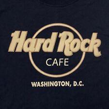 Hard Rock Cafe Washington DC T-Shirt S Small Dark Blue HRC Logo