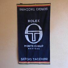 Serviette SERGIO TACCHINI ROLEX Monte-Carlo Masters tennis Monaco Italie N4716