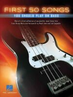 First 50 Songs You Should Play on Bass, Paperback by Hal Leonard Publishing C...