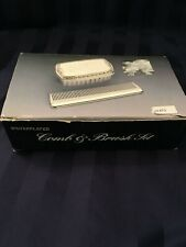 New ListingSilverplated Infant Brush-Comb Set. New Unused. Made in Hong Kong. Great gift.