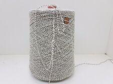 Wolle Garn Stricken weben|  2 farb sw/weis PA mix l lhandstrickgarn 2kg|pay30